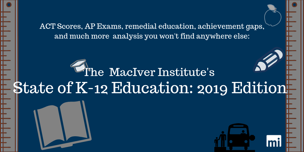 The MacIver Institute's State of K-12 Education: 2019